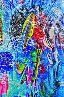 Natur Abstrakt 3 by Walter Zettl