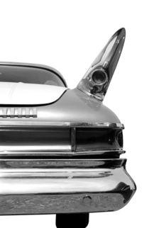 Rear (black&white) von Beate Gube