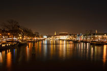Amsterdam by night by Barbara Brolsma