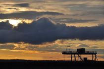 Wolkenhimmel am Abend von Isabell Tausche