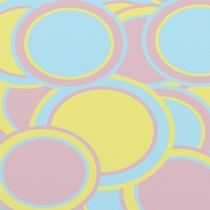Pastel Circles by Michelle Brenmark