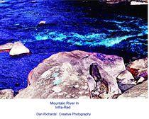 Mountain Creek in Infra-Red von Dan Richards