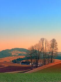 Ein Sonnenuntergang am Land 2 | Landschaftsfotografie by Patrick Jobst