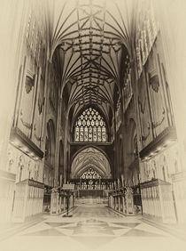 Saint Mary Redcliff, Nave & Organ. von Becky Dix