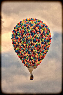 Hot Air Ballon. von Becky Dix