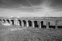 Brückenkopf Wesel I, neue Rheinbrücke von Hanns Clegg