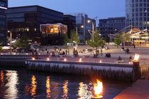 Hamburg Blue Hour - Harbour City 2 by Marc Heiligenstein