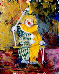 The Invisible Tears of the Clown  von Kasia Turajczyk
