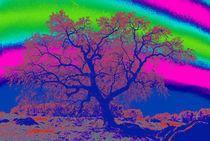 Dreamscape with Tree von Sally White