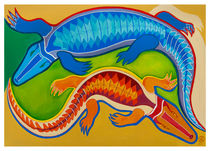 Dance of the Crocodiles by Robert Lacy