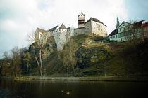 Burg Loket (Elbogen) an der Eger von Sabine Radtke