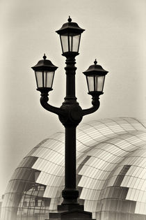 Tyne Bridge Street Lamp by David Pringle