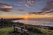 Woolacombe Bay sunset von Dave Wilkinson