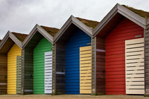 Blyth Beach Huts by David Pringle