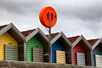 Blyth Beach Huts von David Pringle