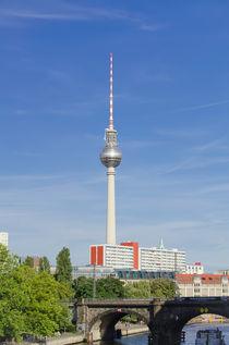 Berlin - Fernsehturm von MaBu Photography