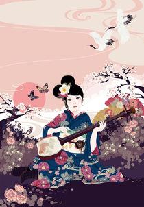 Shamisen by Mari Katogi