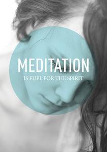 Meditation 4 von Rene Steiner