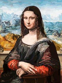Mona Lisa Insp by Tamy Moldavsky