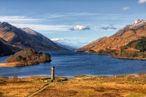 Glenfinnan Memorial and Loch Shiel by Derek Beattie