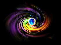 Digital Art 9  Gefangen von Walter Zettl