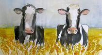 Kühe im Feld von Sonja Jannichsen