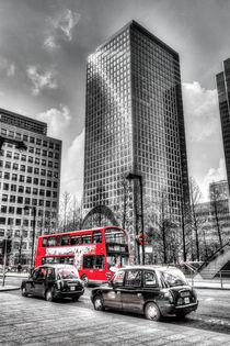 Canary Wharf London von David Pyatt