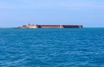 A Fort Atop An Island von John Bailey