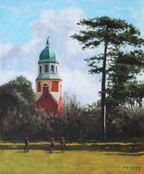 Netley Hospital Chapel-Weston Shore by Martin  Davey