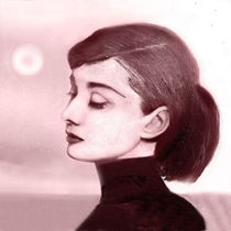 Audrey Hepburn by Gary Koenitzer