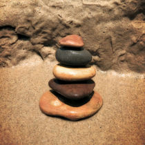 Balance on the Beach von Michelle Calkins