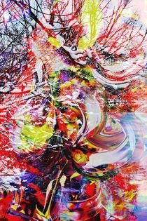 Natur Abstrakt  12 by Walter Zettl