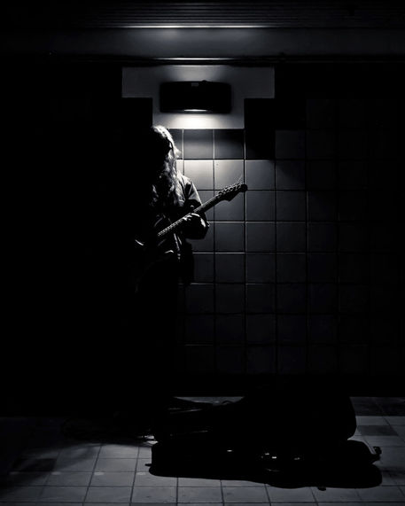 Subway-music-lawrence-west-station-toronto-canada-4x5