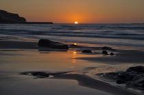 Sunset at Sennen von Pete Hemington