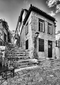 The famous Plaka in Athens, Greece by Constantinos Iliopoulos