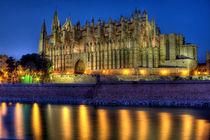 Mallorca - die Kathedrale in der blauen Stunde von Jürgen Seibertz