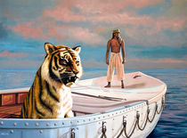 Life Of Pi Painting by Paul Meijering