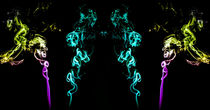 Die 4 Damen Rauchbild Rauchfotografie von Dennis Stracke