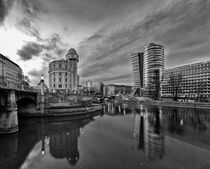 Danube Canal of Vienna - Austria by creativemarc