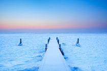 Frozen Jetty von Sara Winter