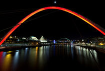 Newcastle Quayside and Sage Gateshead by David Pringle