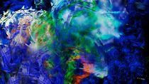 abstract scenery no.5 von Wolfgang Schweizer