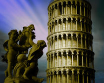 Leaning Tower of Pisa by Edmund Nagele F.R.P.S.