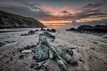 Putsborough Sands Sunset von Dave Wilkinson
