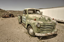 Old Green Chevy  by Rob Hawkins