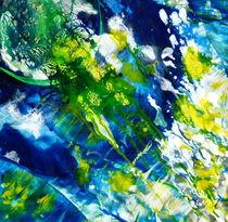 grüner Planet von Barbara Ast