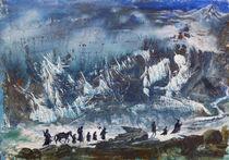 Die Gefährten auf dem Weg ins Nebelgebirge von Barbara Ast