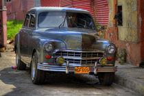 1949 Dodge Kingsway in Havana Cuba von rene-photography