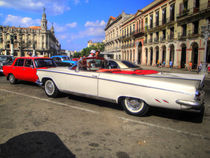 1959 Buick in Havana Cuba by rene-photography