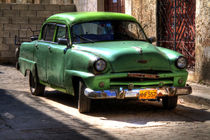 1954 Plymouth in Havana, Cuba by rene-photography